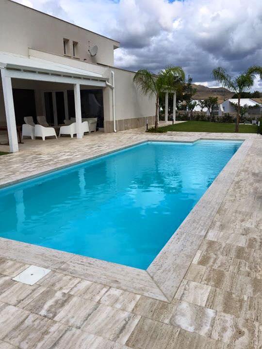 piscina 10x4 con sali della vita piscine foto lavori