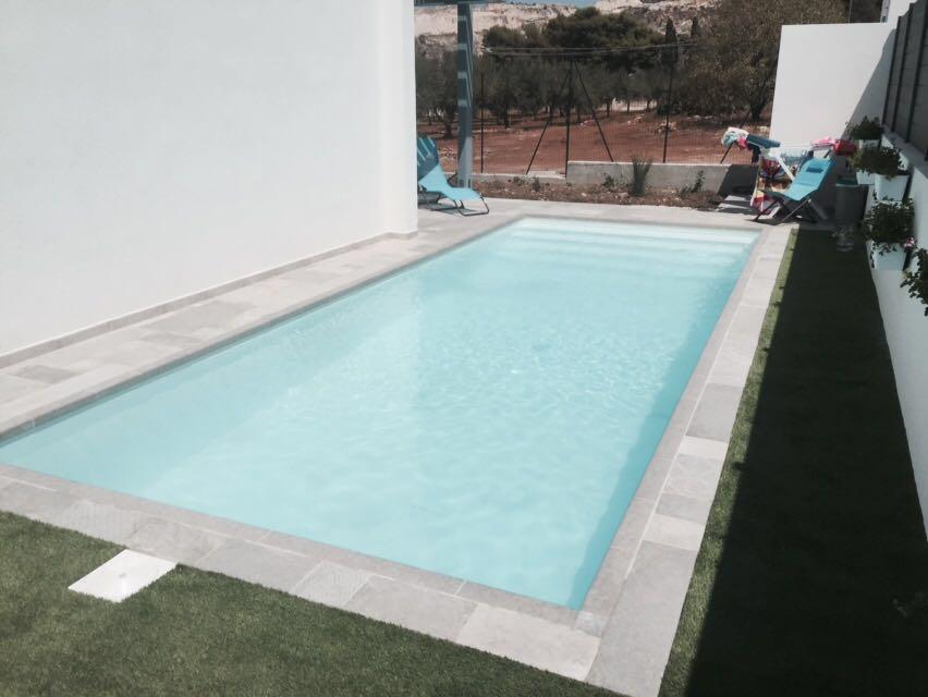Piscina 8x3 h piscine foto lavori realizzati for Piscine 8x3