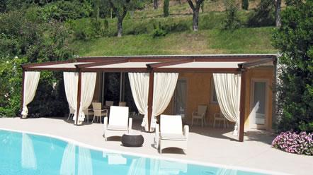 Arredo giardino per piscine foto lavori realizzati for Arredo piscina